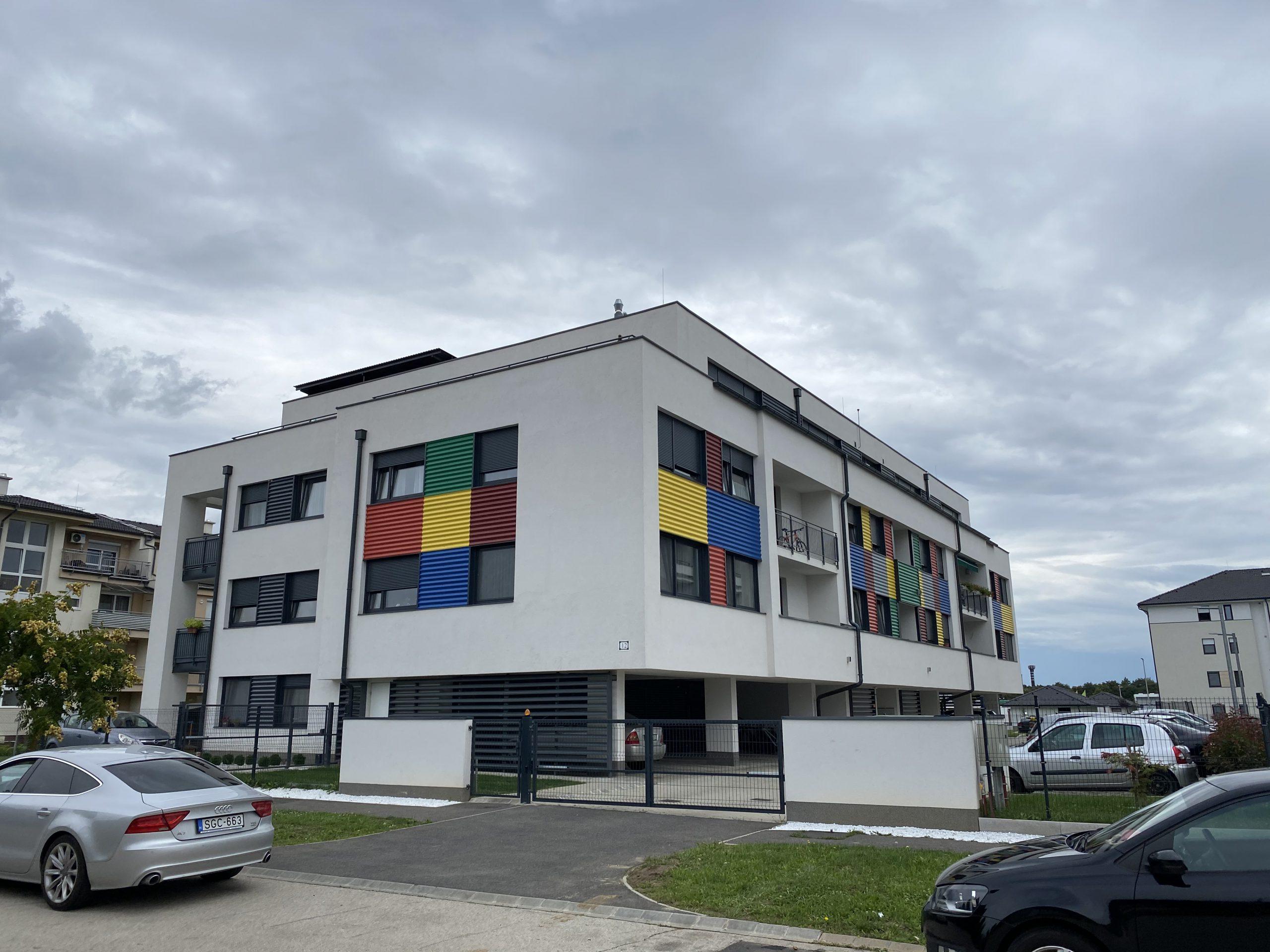 Szombathely, Minerva – Color társasház