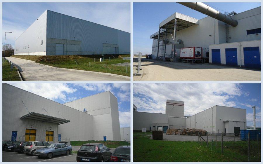 Bük - Nestlé Hungária, Pouch I-II. beruházás